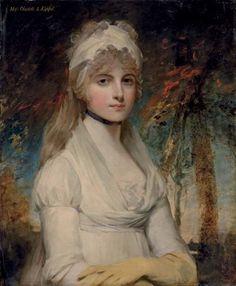 Portrait Of Charlotte Keppel , John Hoppner. English (1758-1810)