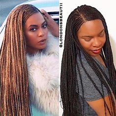 The tucked braids looks dope. Black Girl Braids, Girls Braids, African Braids Hairstyles, Braided Hairstyles, Beyonce Braids, Natural Hair Styles, Short Hair Styles, Twist Braids, Twists