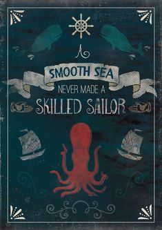 Nautical Quote Poster Tutorial