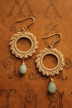 crochet earrings #bisuteria #bisuterias #bisuteriafina #paraguay