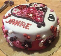 3D Torte zum Hochzeitstag