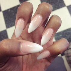 Neutral nails on We Heart It
