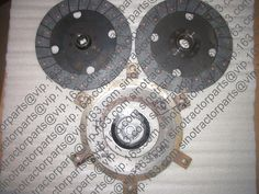 Fengshou tractor parts, MFS354 LE354 clutch repair kit: main and auxiliary disc, main pressure plate,