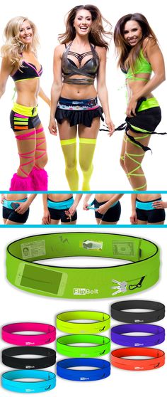 Fit all your EDM essentials in one fashionable belt! Multiple colors to match any EDM outfit. Fits all phones including the iPhone 6 Plus. No Bounce. Machine wash. Buy FlipBelt today with free shipping! Go hands free for any activity! Use 10% off code: PIN10 until 12/31/2015. Click the image to shop now.
