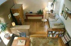 Raised living room!