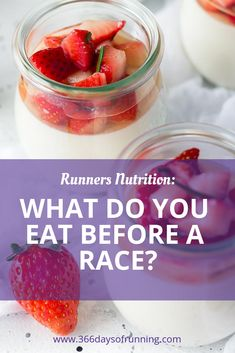 What do you eat before a race? | Runners diet and nutrition | Pre-race breakfast and food | race day preparations #raceday #breakfast #running #health #fitness #exercise