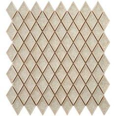 Merola Tile Crackle Diamond Ice 12 in. x 12 in. x 8 mm Ceramic Mosaic Tile-FDXCRI - The Home Depot