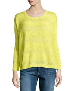Joie citron ribbed sweater
