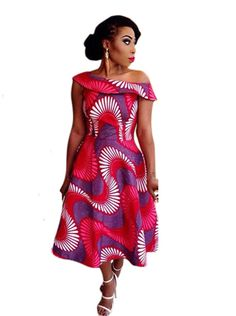 4f58f34c92 US  7.4700 Printed Sweet Slash Neck Big Swing Maxi dresses LE6353 Cheap  Maxi Dresses