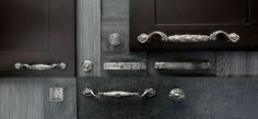 Keeler cabinet hardware - Tresse, Nouveou and Celtic collections. Cabinet Hardware, Celtic, Door Handles, Collections, Home Decor, Braid, Decoration Home, Room Decor, Door Knobs