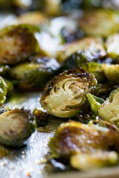 These Honey Balsamic Roasted Brussels Sprouts are not only beyond easy to prepare.