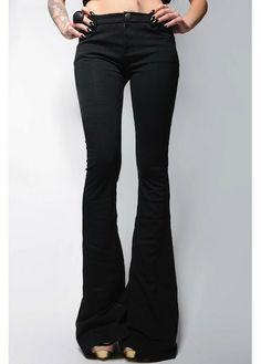 VAMP FLARES - black wonderlandla.com $35.00