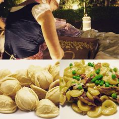 "Orecchiette originates in the sunny southern province of Puglia, Italy, where the weather is warm and the crops plentiful. pasta's round, concave shape led to its name, which means ""little ears"" in Italian. The ridged exterior and cup-like interior captures chunky sauces and scoops up small vegetables, making orecchiette perfect to serve with sautés—sautés that begin, of course, with extra virgin olive oil, of which Puglia is the largest producer of in Italy."