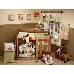Amazon.com: NoJo Farm Babies 5 Piece Crib Set: Baby