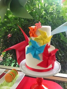 Little Big Company | The Blog Windmill themed birthday party