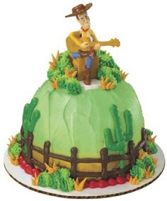 Woody toystory cowboy birthday on pinterest toy story for Bakery story decoration ideas