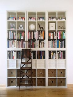 The IKEA Expedit (lately reborn as the Kallax) has, like a lot of