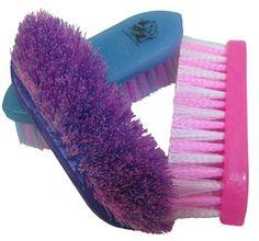Tail Tamer Glitter Medium Bristle Brush | ChickSaddlery.com