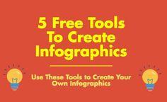 5 Free Tools to Create Infographics - http://www.wonderoftech.com/infographic-tools/?utm_campaign=coschedule&utm_source=pinterest&utm_medium=Social%20Savvy%20Geek%2C%20LLC