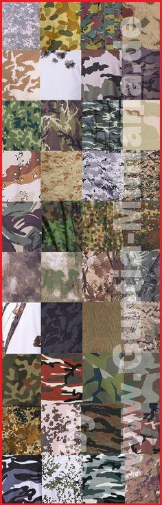 Tarnmuster Übersicht - Hier findet ihr eine Übersicht der gängigsten Tarnmuster: flecktarn, BW Tropentarn, woodland, night camo, splinter Tarn, urban, snow camo, vegetato, NVA Strichtarn, Eichentarn, Erbsentarn, belgisch Tarn, Operation camo, Hunter Snow, HDT Camo, Red Camo, Tibet Tarn, Hunter braun, polnisch Tarn, schwedisch Tarn, uvm.  mehr Infos unter: www.Guntia-Militaria.de