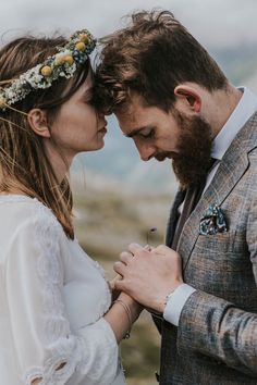 Breathtaking Norwegian wedding shoot | Image by Joanna Jaskólska Fotografia