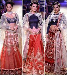 Anju Modi collection at Lakme Fashion Week Winter/ Festive 2014