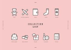 my collection pictogram