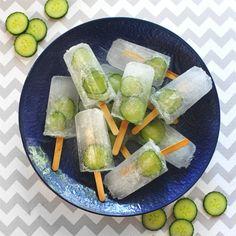 Gin og tonic. Med agurk. På en ispind. Hvad mere kan man ønske sig? Få opskriften her.