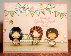 The Greeting Farm Little Party set