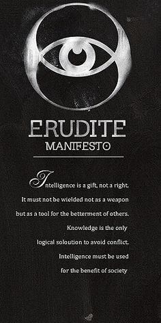 Comment if you're in the Erudite faction