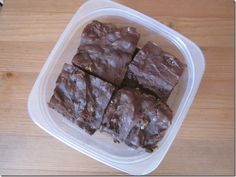 A recipe for protein brownies that's actually things I have in my house!