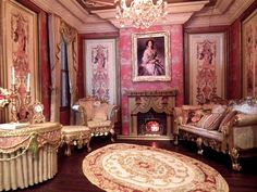 CUSTOMER GALLERY - SIMPLY SILK MINIATURES. This room is amazing! Incredible that this is all in mini.