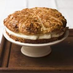 Bienenstich Originalrezept mit Pudding - I like to cook, bake and travel Rezepte Tiramisu, Food And Drink, Pie, Cookies, Desserts, Ethnic Recipes, Strudel, Eat Smarter, Creme