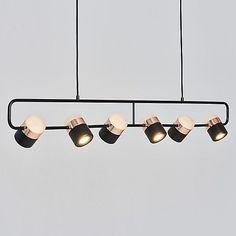 Seed Design Lighting Ling PL6 Linear Suspension Light | DLaguna.com Designer Lighting Linear Lighting, Linear Chandelier, Pendant Chandelier, Chandelier Lighting, Modern Lighting, Lighting Design, Track Lighting, Chandeliers, Handmade Chandelier