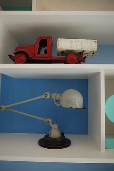 Vosgesparis.blogspot.com (C) Woonbeurs 2011 - 101 woonideeen home Old toys truck jielde