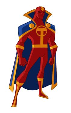 Red Tornado (Justice League Action) by Shane Glines
