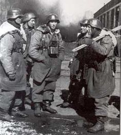 SS troops in Kharkov.