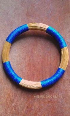Bracelet Corda Bleu Brésil  #coupedumonde #wolrdcup #artisanat #faritrade #équitable #bijoux #mode #tendance #brésilchic