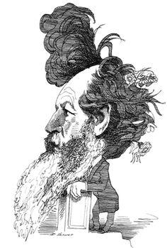 William Morris by David Levine