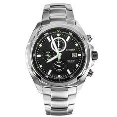 Citizen Eco-Drive Super Titanium Chronograph Mens Watch CA0190-56E