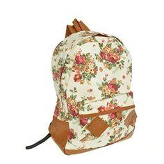 Generic Women Girls Floral Canvas School Book Satchel Travelling Backpacks Rucksack (Beige) COKA http://www.amazon.com/dp/B00F84PSCI/ref=cm_sw_r_pi_dp_92E6ub0MFGRD0