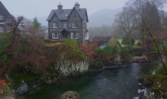 A house on the River Llugwy Betws-y-Coed.( oc )( 1024 x 614 )TerryKearney - Cool Houses Pictures And Dream Home Unique Designs, Big, Medium Size And Small House Design Ideas