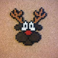 Rudolph Christmas hama beads by hansuliininen