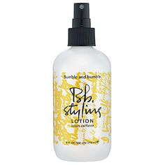 Bumble and bumble, styling spray, blowout products , frizz taming products
