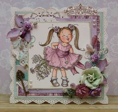 different colour combo Penny Black Cards, Mo Manning, Handmade Card Making, Hand Stamped Cards, Beautiful Handmade Cards, All Things Purple, Scrapbooking, Pretty Cards, Digi Stamps