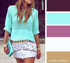 Alina Babina color palettes                                                                                                                                                      Más