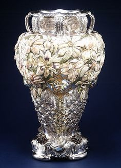 The Magnolia Vase ~ Tiffany & Company for the 1893 World's Fair: Columbian Exposition in Chicago