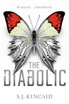 #CoverReveal The Diabolic by S.J. Kincaid