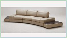 Shop Beige Palazzo Leather Sofa With Tables and other modern and contemporary home and office furniture. Browse our selection of Sofas from Zuri Furniture. Loveseat Sofa Bed, Sectional Sleeper Sofa, Recliner, Small Sectional, Sofa Chair, Modern Grey Sofa, Contemporary Sofa, Couches For Sale, Petite Section