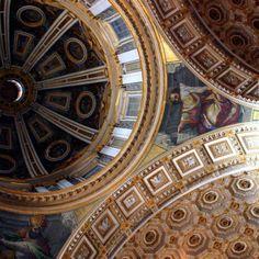 Italian Dome Architecture . st.peter's.rome